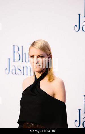 Cate Blanchett  'Blue Jasmine' - UK Film Premiere - Red Carpet Arrivals - Stock Photo