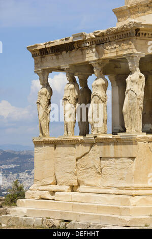 the caryatids on the erechtheion of Erechtheum of acropolis is one famous buildings of acropolis the temple was an older temple of king erechtheus, on the erechtheum are the caryatids.