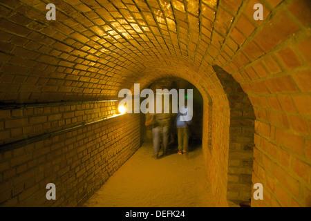 Underground Tourist Route, Rzeszow, Poland, Europe - Stock Photo