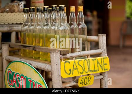 Gasoline Station, Ko Samui Island, Surat Thani, Thailand, Southeast Asia, Asia - Stock Photo