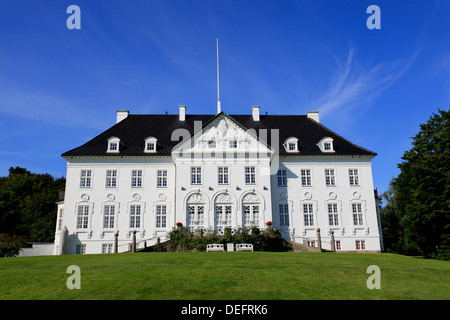 Royal palace Marselisborg, Arhus, Jutland, Denmark, Scandinavia, Europe - Stock Photo