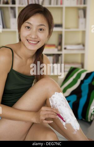 Asian women muscle legs consider