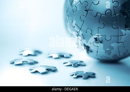 Global strategy - Stock Photo