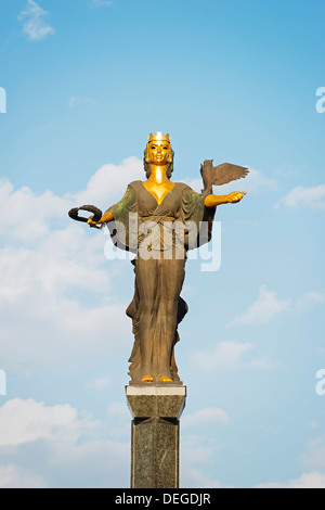 Sofia Monument, Sofia, Bulgaria, Europe - Stock Photo