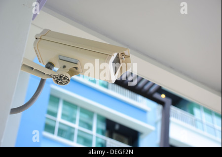 CCTV Security Surveillance Camera - Stock Photo