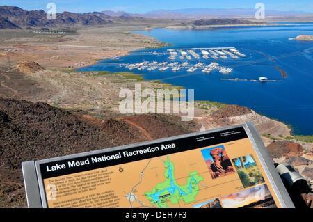 Lake Mead Recreation Area Las Vegas Nevada - Stock Photo