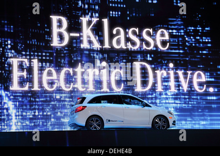 Mercedes benz b class electric drive stock photo royalty for Class b electric motor