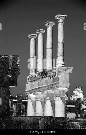 Ruins, Pompeii. Italy - Stock Photo