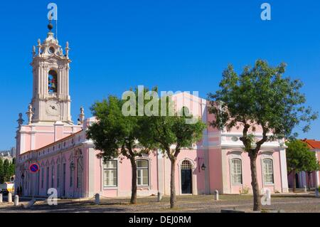 Queluz, Pousada Dona maria, Dona Maria state-run hotel, Lisbon Portugal, Europe. - Stock Photo