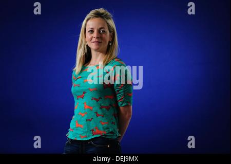 Jennie Rooney, Author, attending at the Edinburgh International Book Festival, Wednesday 21st August 2013. - Stock Photo