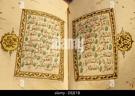The Prophet Muhammad´s 99 names in the Islam - Stock Photo