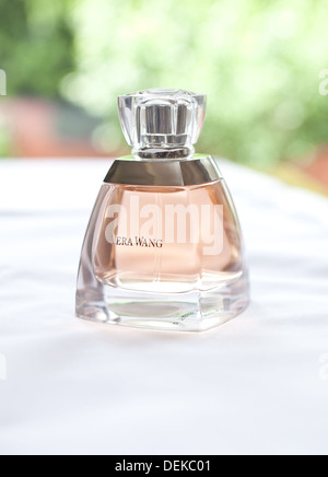 Vera Wang perfume bottle - Stock Photo
