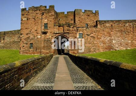 Carlisle Castle, Carlisle, England, UK - Stock Photo
