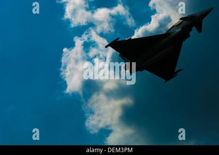 Biggin Hill Airshow Biggin Hill Kent England UK Europe planes airplane jet fighter prop propeller display biggin - Stock Photo