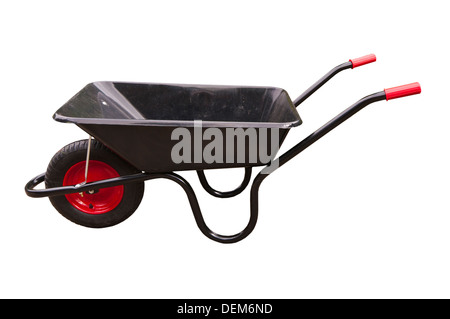 Empty Wheelbarrow - Stock Photo