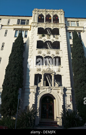 Building, Hollywood. Los Angeles. California, USA - Stock Photo