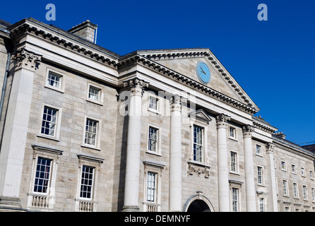 Trinity College in Dublin Ireland - Stock Photo
