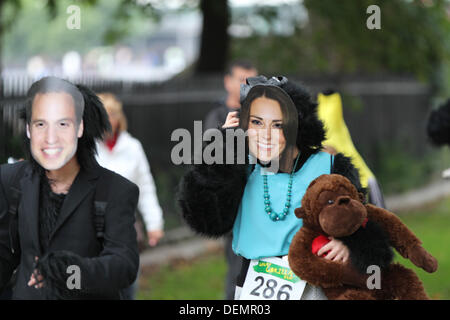 London, UK. 21st Sep, 2013. Now in its 10th year, this incredible event has raised more than £1.9 million for biodiversity - Stock Photo
