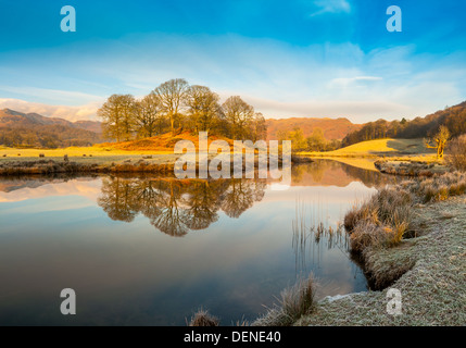 elter water,lake district, cumbria, england, uk, europe - Stock Photo