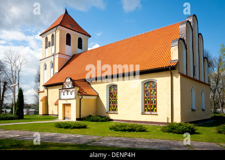 Church in Rydzewo XVI century - roman / catholic - Stock Photo