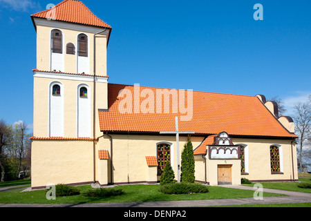 Church in Rydzewo / Poland - Stock Photo