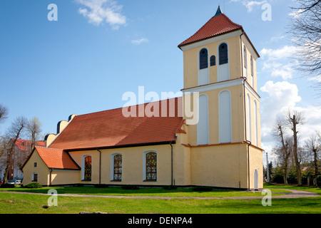 Rydzewo in Poland, Saint Andrew Bobola Church - Stock Photo