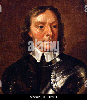 Oliver Cromwell - Stock Photo