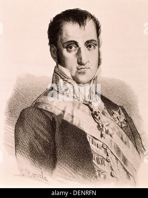 Ferdinand VII (1784-1833), King of Spain - Stock Photo