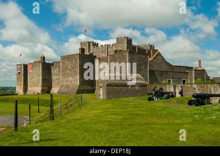 Dover Castle, Dover, Kent, England - Stock Photo