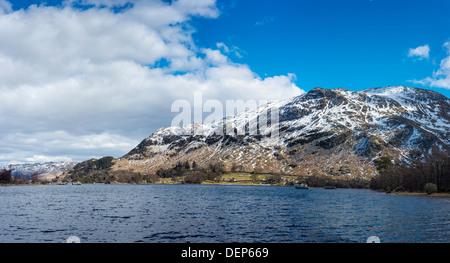 glenridding,ullswater,lake district,cumbria,england,uk,europe - Stock Photo
