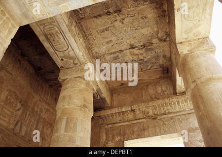 king Seti I temple, Luxor, Egypt - Stock Photo