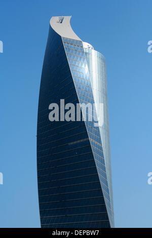 modern Skyscrapers, kuwait city - Stock Photo