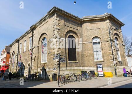 Fish Row, Tourist Information Office, Salisbury, Wiltshire, England, UK. - Stock Photo