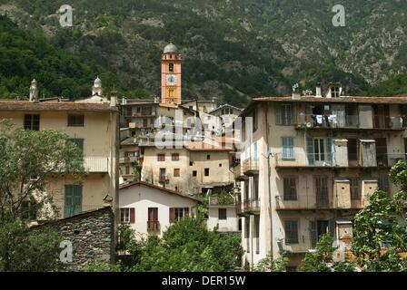 Tende, Parc National du Mercantour, Alpes Maritimes, France - Stock Photo