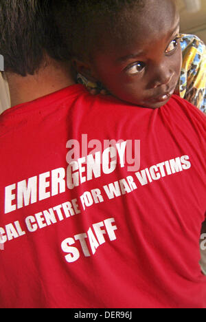 Children´s hospital of Emergency Onlus in Mayo district, Sudan - Stock Photo