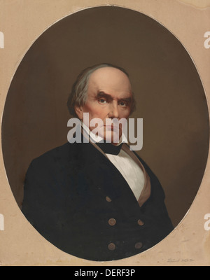 Daniel Webster - USA senator and statesman from Massachusetts 1782 - 1852 - Stock Photo