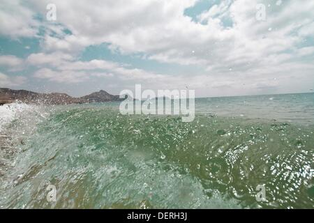 Porto Santo Beach, Madeira - Stock Photo