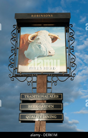 The Bulls Head Public House In Ashford In The Water