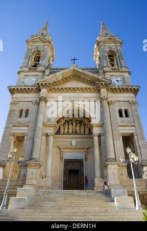 Church of Saints Cosmos and Damian, Alberobello, Puglia, Italy - Stock Photo