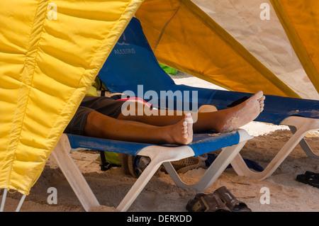 ... sun tents on Baby Beach in Aruba - Stock Photo & sun tents on Baby Beach in Aruba Stock Photo Royalty Free Image ...