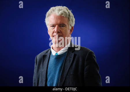 Peter Stothard, British newspaper editor, attending the Edinburgh International Book Festival, Monday 12th August - Stock Photo