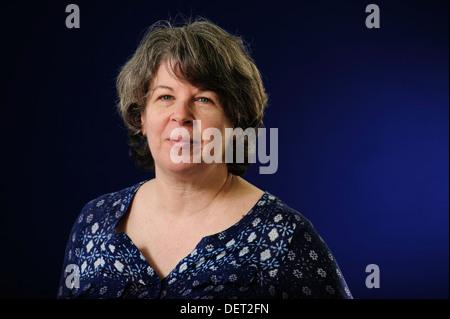 Meg Wolitzer, American writer, attending the Edinburgh International Book Festival, Tuesday 13th August 2013. - Stock Photo