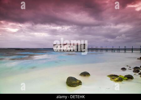 Anastasia´s on the Sea, Corn Island Marine Park, Big Corn Island, Corn Islands, Nicaragua - Stock Photo