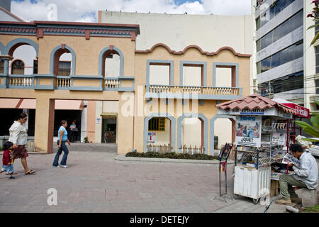 Plaza Morazan, Tegucigalpa, Honduras - Stock Photo