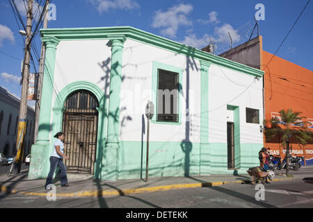 Street scene in city center, Tegucigalpa, Honduras - Stock Photo