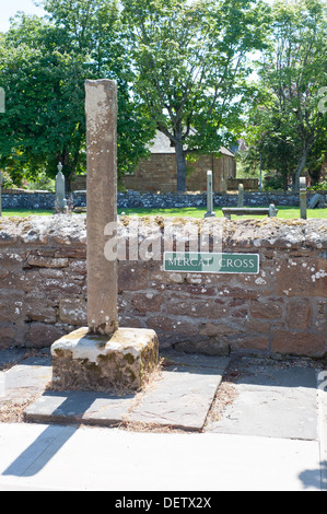 The Village of Dornoch on Scotland's east Coast. - Stock Photo