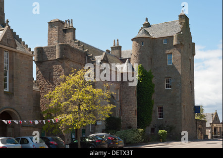 Dornoch Castle Hotel-Scotland. - Stock Photo