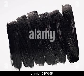 black paint stripes - Stock Photo