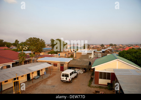 Elevated view of Juba Sudan, December 2010 - Stock Photo