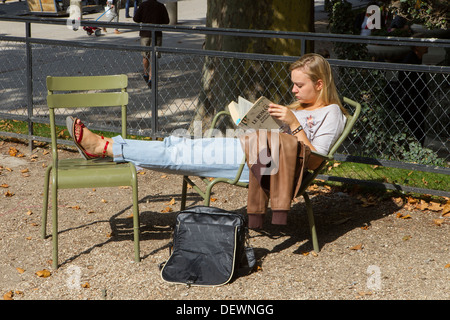 student relaxing - Stock Photo